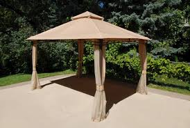Menards Awnings 13 U0027 X 10 U0027 Roof Style Gazebo At Menards