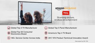 Home Decor Brands In India Tcl Tvs Store Buy Tcl Tvs Online At Best Prices In India Browse