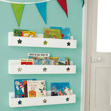 Tidy Books Bookcase White by Star Book Ledge Bookcases U0026 Bookshelves Storage Gltc Co Uk