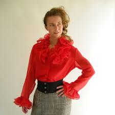 frilly blouse frilly blouse black blouse