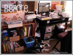 Homeschool Desk How I Re Organized My Small Homeschool Room Before And After
