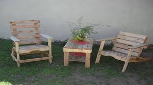 Pallets Patio Furniture How To Make Pallet Patio Furniture Youtube