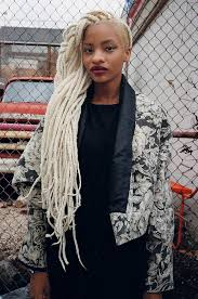hair style with color yarn blond braids undercut gorgeous storm is real blackhair box