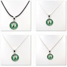 gifts for basketball fans aliexpress com buy necklaces pendants boston celtics charms