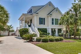 beautiful ocean and marsh view great pawleys island gated community