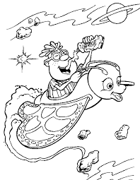 cartoon tv series jimmy neutron coloring pages children u2013 barriee