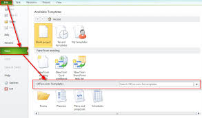 how to create and use templates in ms project 2010 nenad trajkovski