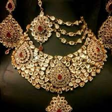 artificial and gold jewellery designs wedding 2017