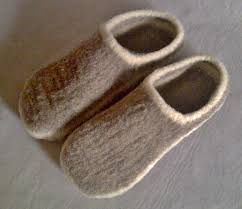 wool slippers free shipping wool shoes custom order oatmeal
