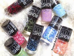 pedicure colors to the stars 9 maybelline color show go graffiti nail polish swatches sweet and