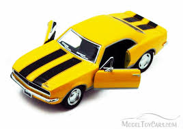 1967 camaro diecast 1967 chevrolet camaro z28 yellow kinsmart 5341d 1 37 scale