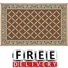 reversible patio mat ebay