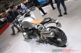 bmw motorcycle scrambler bmw r ninet scrambler 2016 geneva motor show live