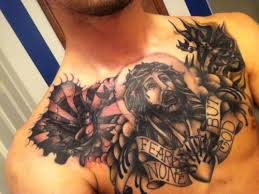 25 great chest tattoos creativefan