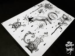 halloween hamstertattoo viptattoo blackworkers artist drawing