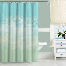 Blue And Green Shower Curtains Mint Green Shower Curtain Aqua Blue Shower Curtain Bath