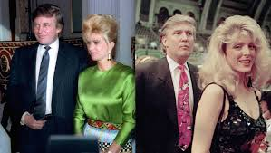 trump s remember when donald trump s wife and donald trump s mistress got in
