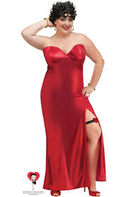 Red Cocktail Dress Plus Size Betty Boop Red Dress Gown Plus Size Costume Fun World 100115