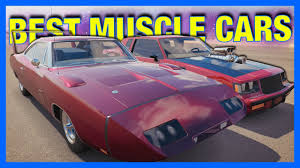 cheap muscle cars forza horizon 3 online best muscle cars youtube