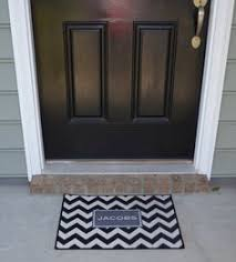Monogrammed Rugs Outdoor by Personalized Door Mat Monogrammed Doormat Gray Floor Rug Grey