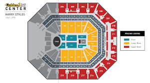 seating charts golden1center