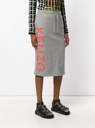 casual pencil skirt kenzo branded casual pencil skirt 240 buy aw17 fast