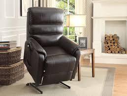 Power Lift Chairs Reviews Amazon Com Homelegance Kellen Power Lift Bonded Leather Recliner