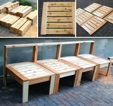 Build Patio Table How To Build Garden Furniture How To Build Outdoor Furniture Build