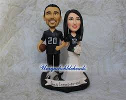 custom wedding cake toppers sports wedding cake topper custom wedding cake toppers jersey