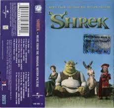 shrek music original motion picture cassette