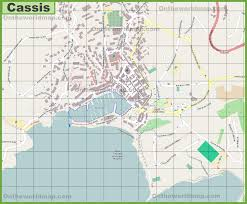 St Malo France Map by Large Detailed Map Of Cassis