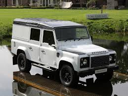 white land rover defender current inventory tom hartley