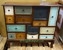 bayside furnishings accent cabinet stein world multicolor accent chest costco frugalhotspot