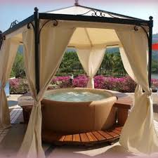 Outdoor Gazebo Curtains Alluring Outdoor Canopy Curtains Designs With Best 25 Gazebo