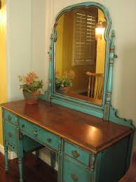 Furniture Victorian Makeup Vanity Vanity by European Paint Finishes Chippy Teal Vanity For The Home