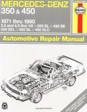mercedes repair manuals mercedes car truck repair manuals literature ebay