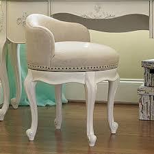 Vanity Chair Stool Smartstuff Bellamy Swivel Vanity Stool Daisy White Hayneedle