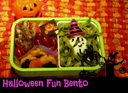 ghoulishly healthy halloween bento recipes