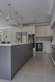floor tile ideas for kitchen best 25 blue grey kitchens ideas on grey kitchens small