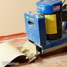 vinyl flooring removal made easy family handyman