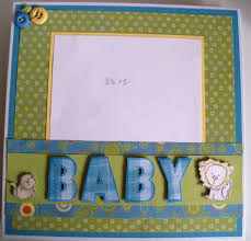 baby boy scrapbook album baby boy 9 9 accordion album scrapedia