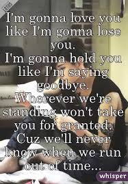 i m gunna a time i m gonna you like i m gonna lose you i m gonna hold you like