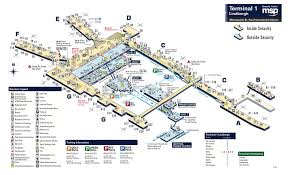 msp airport terminal map msp concourse map my