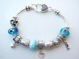 love bead bracelet images Pandora inspired faith hope love charm bead bracelet fish heart JPG&a