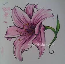 free download lily flower tattoo drawing u0027 tattoo design did