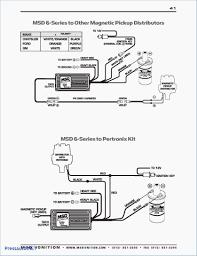 wiring diagram for electronic distributor msd hei distributor
