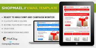 shop mail html email template by janio araujo themeforest