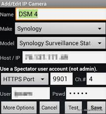 ip viewer android connecting ip viewer to synology surveillance station