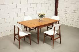 vintage retro dining suite table u0026 4 chairs danish parker