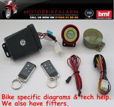 ncs c 11 talking motorbike alarm and immobiliser system